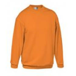 Premium Sweat-Shirt Orange Gr.S