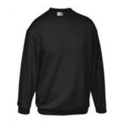 Premium Sweat-Shirt Schwarz Gr.5XL